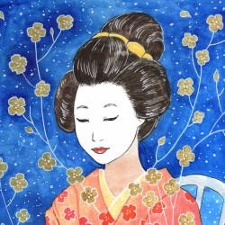 """""""Ikebana"""", original"""