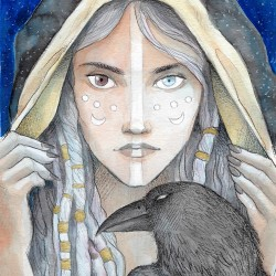 Druida, il·lustració original