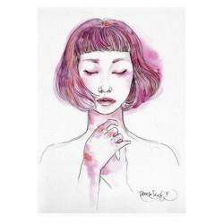 """Pink"", Original A4"