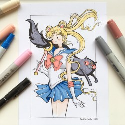 """Sailor Moon"", print A5"